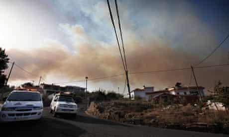 La Gomera wildfires