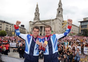 Olympians Return Home: Olympians Return Home