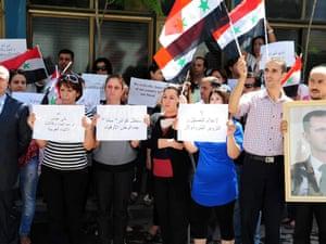 Syria journalists from Sana