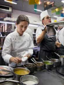 In the Arzak kitchen