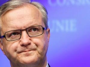 Monetary Affairs European Commissioner, Olli Rehn