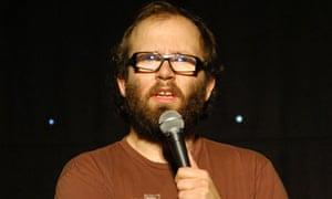 Daniel Kitson at Greenwich Comedy Festival, 2010