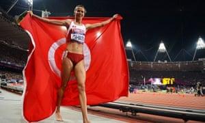 Habiba Ghribi of Tunisia