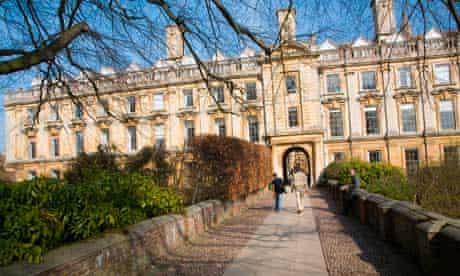 Clare College Cambridge University England