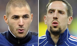 Benzema and Ribery