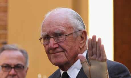 Former Australian prime minister Malcolm Fraser