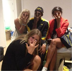 Olympics round-up: Usain Bolt partying with the Swedish handball team
