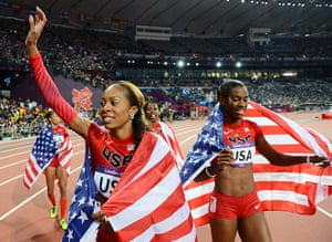 Olympics roundup: Sanya Richards-Ross