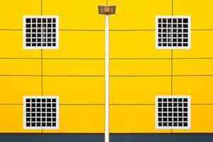 Your Pictures: Square: Yellow house with white square windows