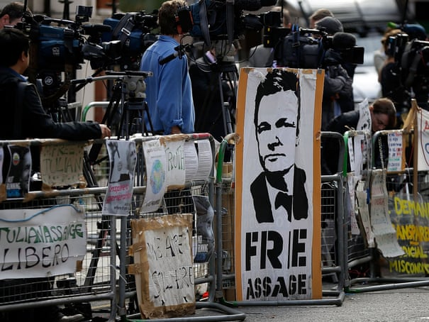 Julian Assange granted asylum by Ecuador - as it happened
