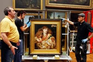 Pre-Raphaelites: Monna Vanna