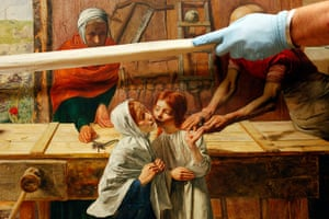Pre-Raphaelites: Christ in the House of His Parents