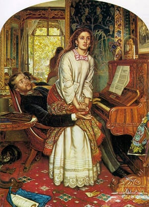 Pre-Raphaelites: The Awakening Conscience 1853