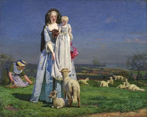 Pre-Raphaelites: The Pretty Baa-Lambs