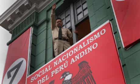 Peruvian Nazi party leader Martín Quispe Mayta