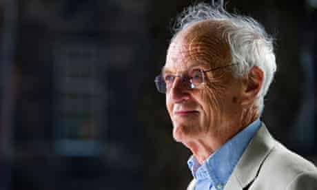 Michael Frayn talked to the Edinburgh international book festival about his latest book Skios