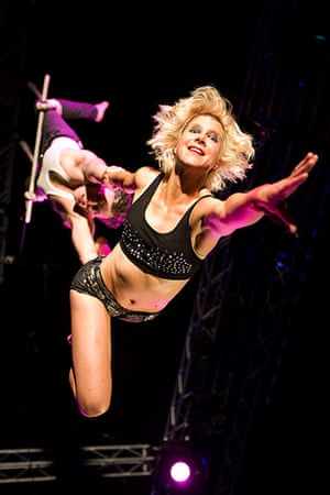 Edinburgh Festival: Ken and Tina in Tumble Circus: This Is What We Do For a Living