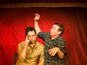 Edinburgh Festival: Shenoah Allen and Mark Chavez, The Pajama Men's Improv Show