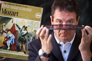 Edinburgh Festival: Mark Thomas with his fathers records