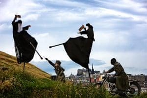 Edinburgh Festival: Biuro Podrozy rehearse their visually captivating interpretation of Macbeth
