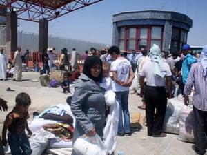 Syria refugees in Turkey