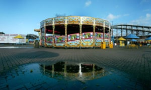 Dreamland amusement park in Margate