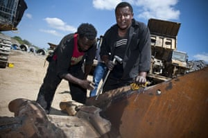 Gold mine in Ethiopia: Midroc  intensive gold mining