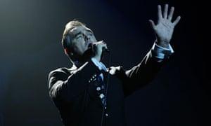 Morrissey in concert - Manchester Apollo