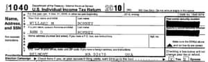Mitt Romney's 2011 tax return