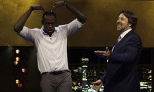 Usain Bolt on Jonathan Ross