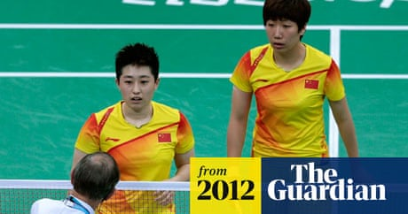 China S Yu Yang Quits Badminton After Olympic Match Fixing Disqualification Sport The Guardian
