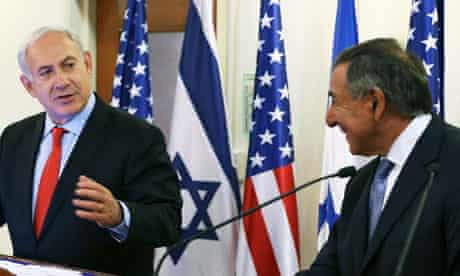 Israeli Prime Minister Netanyahu with Leon Panetta