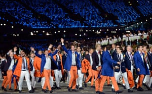 Men's olympic fashion: Olympic Games 2012 Opening Ceremony Netherlands