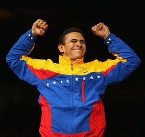 Men's olympic fashion: Gold medalist  Ruben Limardo Gascon