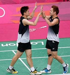 Olympic men's fashion: Malaysia's Boon Heong Tan and Kien Keat Koo