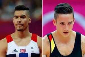 Fashion: Great Britain's gymnast Louis Smith