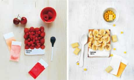 Food as art: Pantone tarts