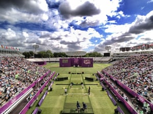 Dan Chung Gallery: A beautiful morning at the Women's individual archery at Lord's