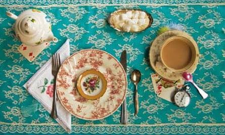 Food as art: Alice in Wonderland afternoon tea