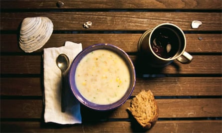 Food as art: Moby Dick clam chowder