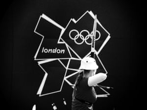 Dan Chung Gallery: Carin Christiansen competes in the Women's individual archery