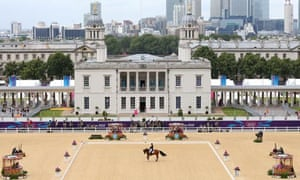 Rafalca, the horse owned by Ann Romney, competes in London 2012