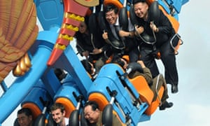 Kim Jong-un on ride with British diplomat