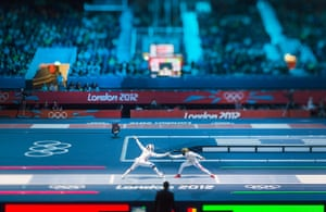London 2012 Olympic Fencing In Pictures Sport The