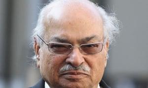 Wajid Shamsul Hasan, Pakistan's high commissioner to UK