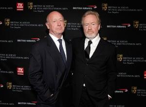 Tony Scott: Producer and director Tony Scott, left, with his brother