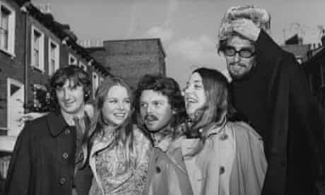 Scott McKenzie with the Mamas and the Papas
