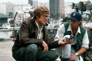 Tony Scott: Robert Redford & Brad Pitt in Spy Game (2001)