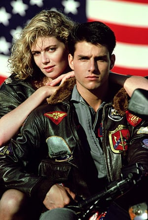 Tony Scott: Kelly McGillis & Tom Cruise Top Gun (1986) directed by Tony Scott