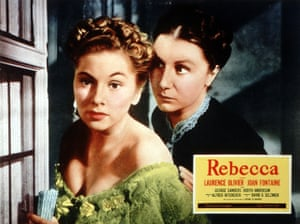 Hitchcock fashion: Rebecca, 1940, starring Joan Fontaine, left, and Judith Anderson